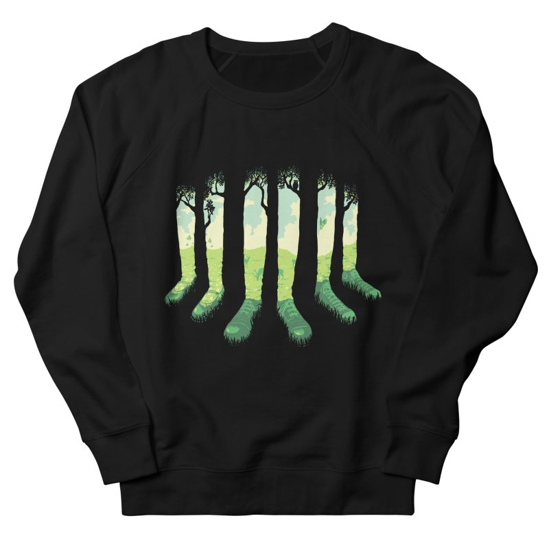 Can't See the Forest but for the Socks Women's French Terry Sweatshirt by grayehound