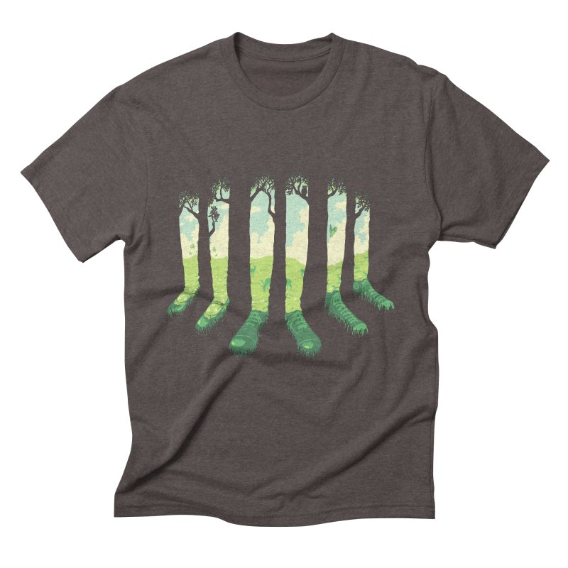 Can't See the Forest but for the Socks Men's Triblend T-Shirt by grayehound