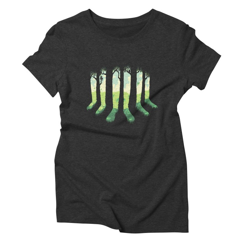Can't See the Forest but for the Socks Women's Triblend T-Shirt by grayehound