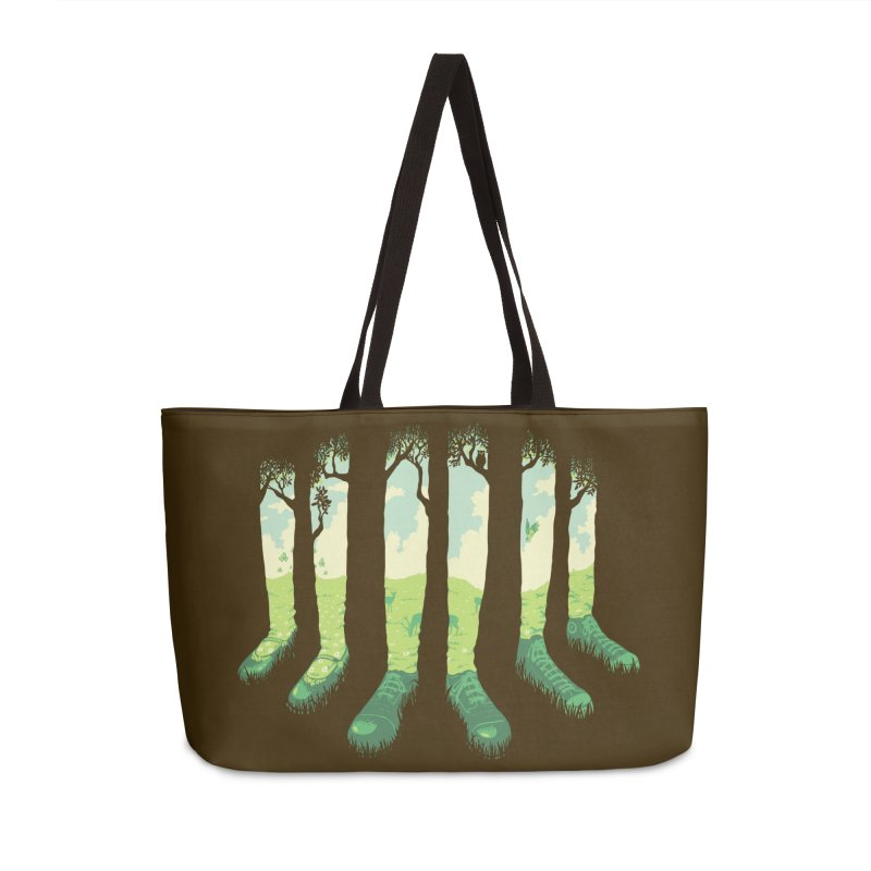 Can't See the Forest but for the Socks Accessories Bag by grayehound