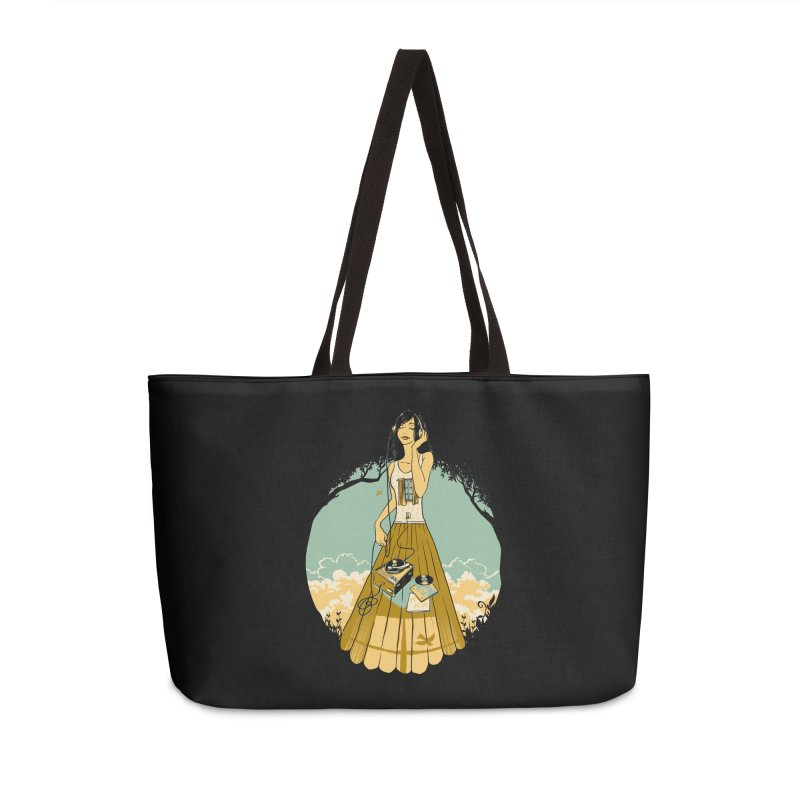 A Room with a View Accessories Bag by grayehound