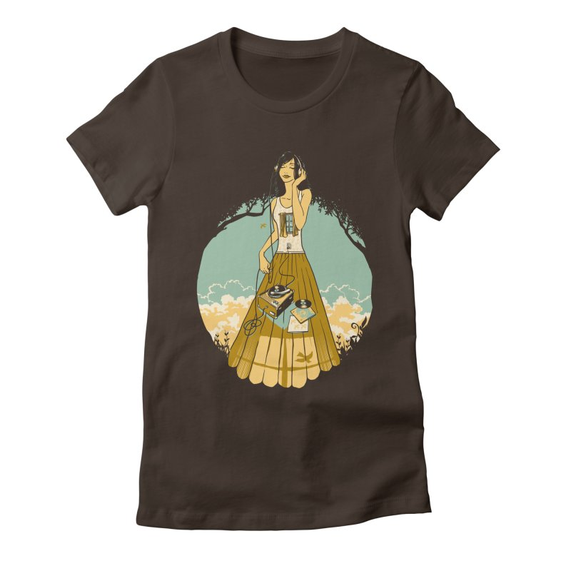 A Room with a View Women's Fitted T-Shirt by grayehound