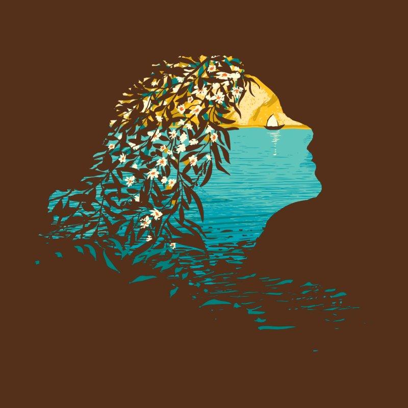 An Island Unto Herself Accessories Bag by grayehound