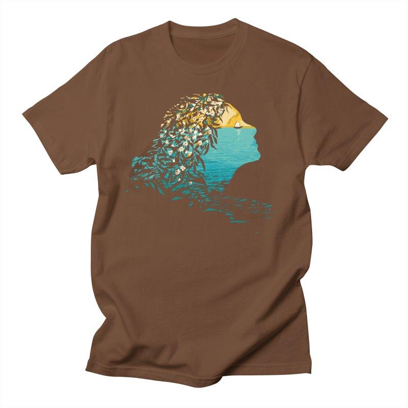 An Island Unto Herself Women's Regular Unisex T-Shirt by grayehound