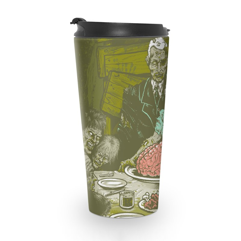Freedom from Want...of BRAINS Accessories Travel Mug by grayehound