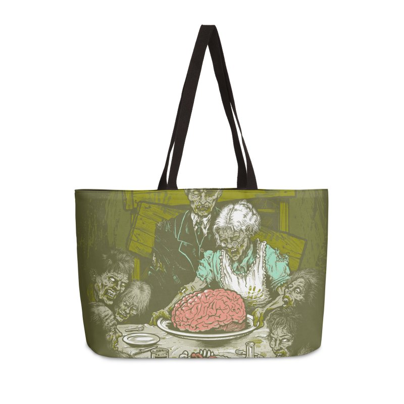 Freedom from Want...of BRAINS Accessories Weekender Bag Bag by grayehound