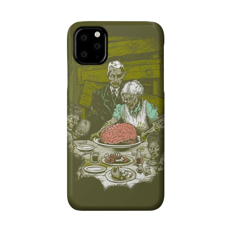 Freedom from Want...of BRAINS Accessories Phone Case by grayehound