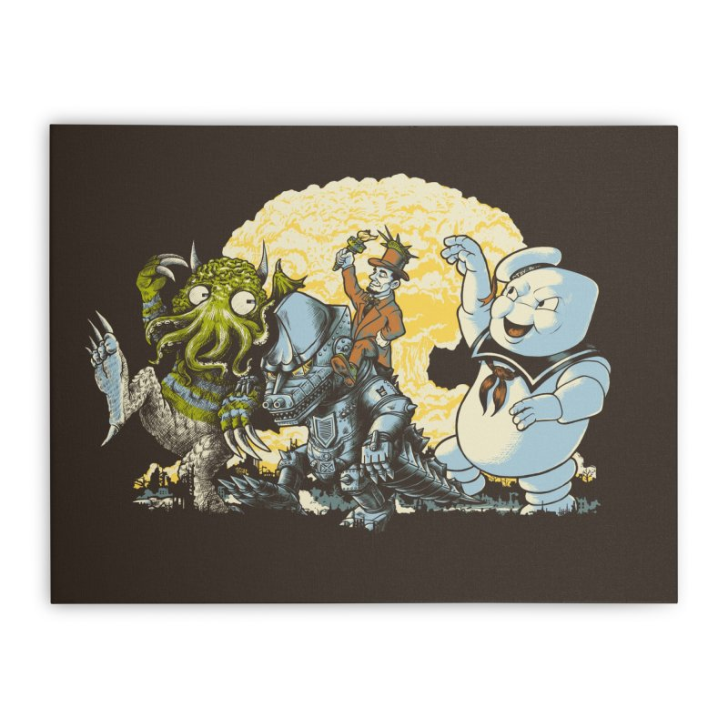 The Giant Rumpus Home Stretched Canvas by grayehound