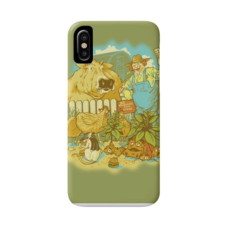 Old McDonald's Farm Accessories Phone Case by grayehound