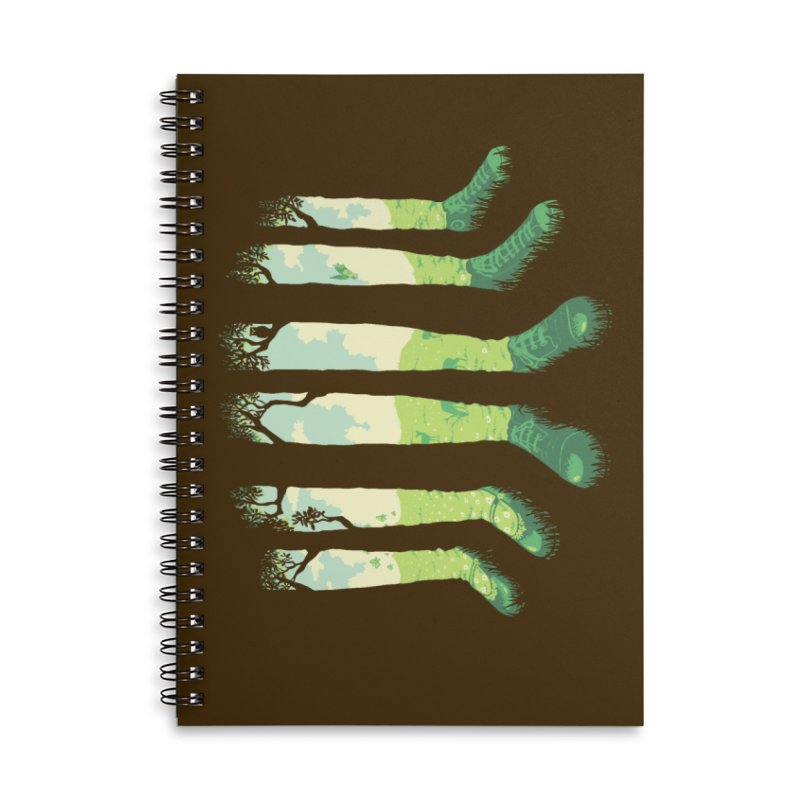 Can't See the Forest But for the Socks Accessories Lined Spiral Notebook by grayehound