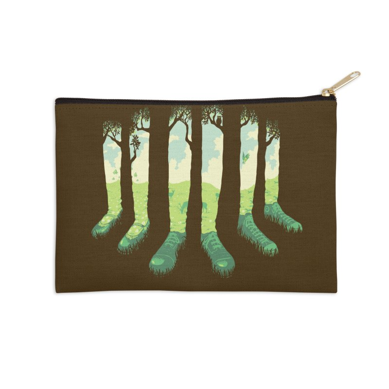 Can't See the Forest But for the Socks Accessories Zip Pouch by grayehound