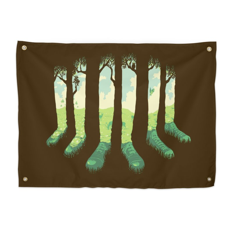 Can't See the Forest But for the Socks Home Tapestry by grayehound