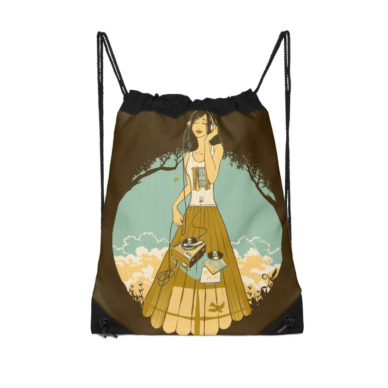 A Room With a View Accessories Drawstring Bag Bag by grayehound