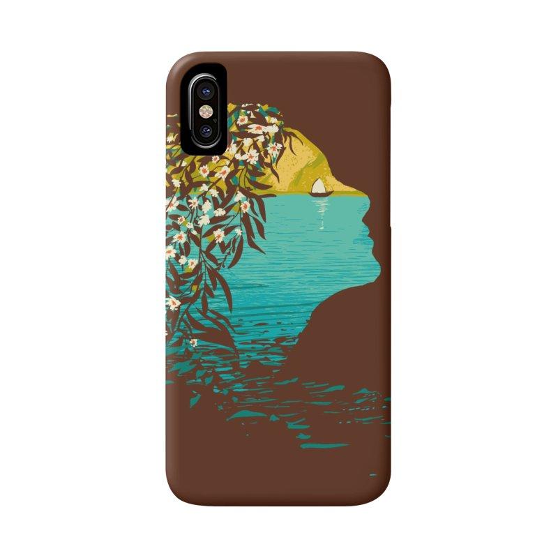An Island Unto Herself Accessories Phone Case by grayehound