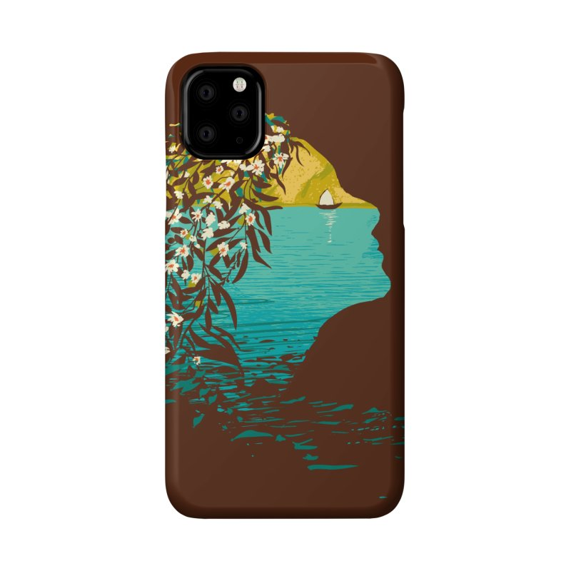 An Island Unto Herself Accessories Phone Case by grayehound