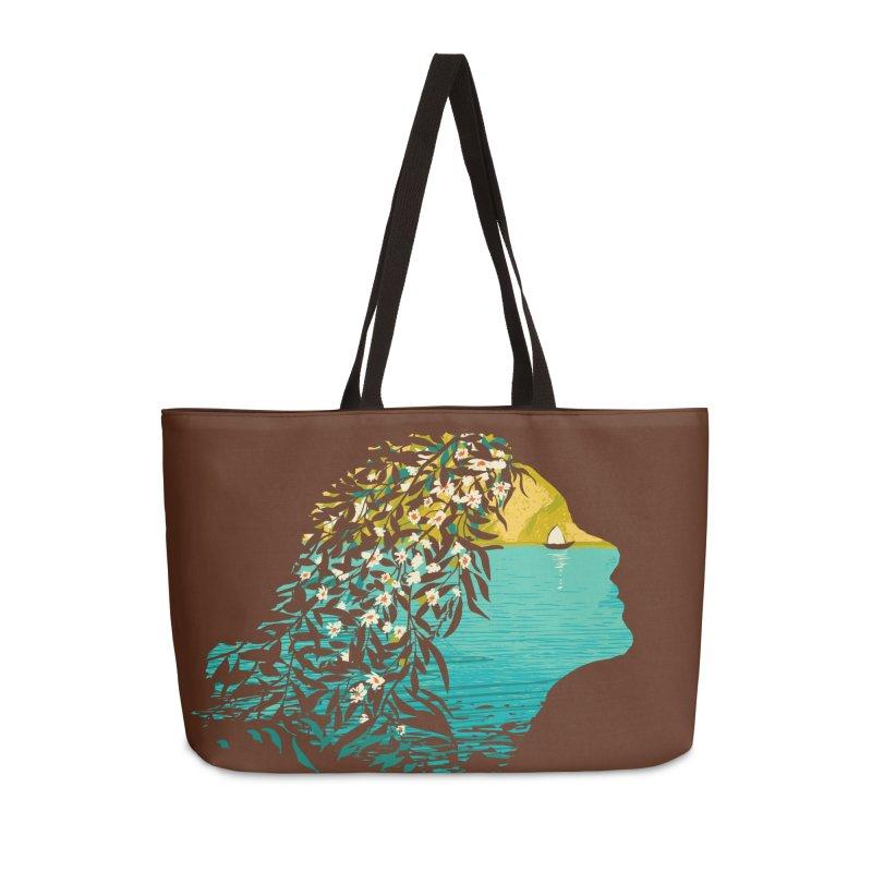 An Island Unto Herself Accessories Weekender Bag Bag by grayehound