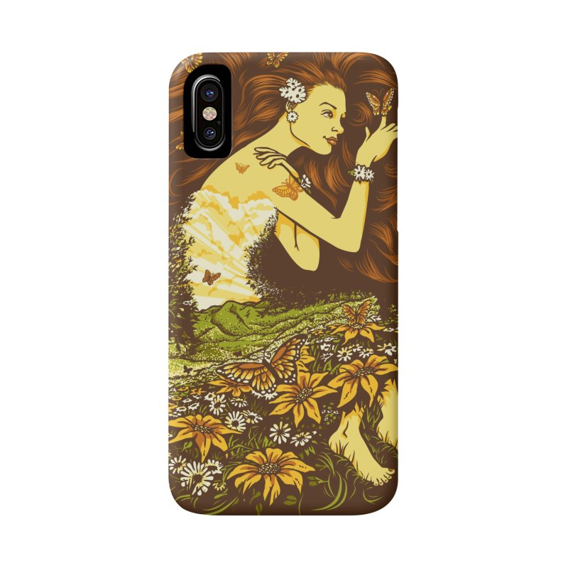 A Field with a Dream Accessories Phone Case by grayehound