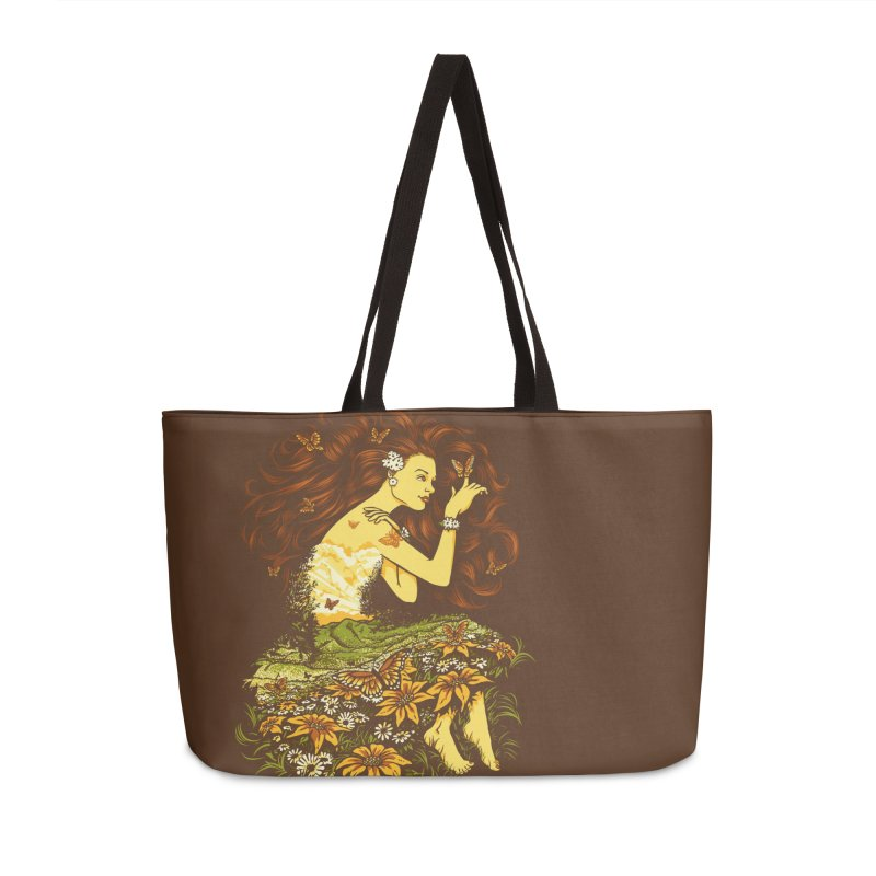 A Field with a Dream Accessories Bag by grayehound