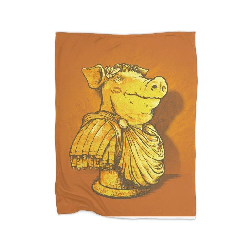 Pig Latin Home Blanket by grayehound