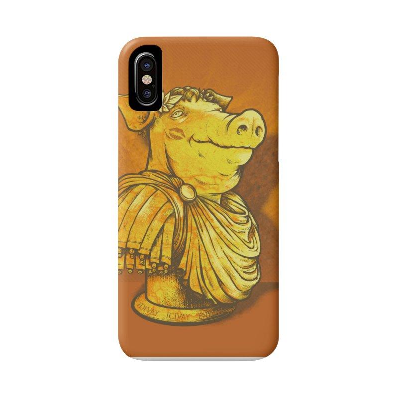 Pig Latin Accessories Phone Case by grayehound