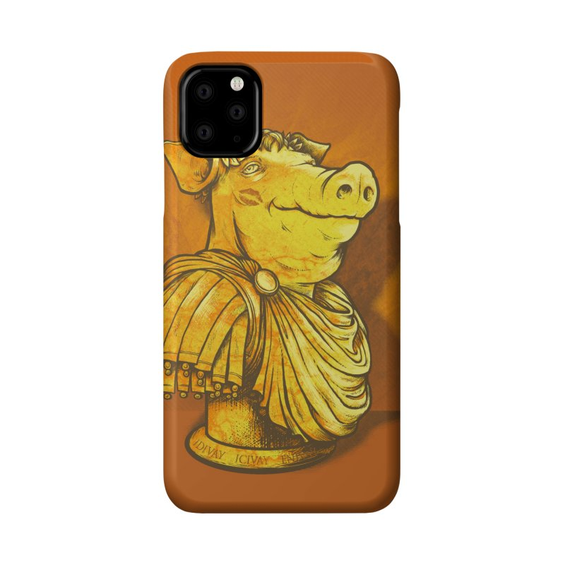 Pig Latin Accessories Phone Case by grayehound