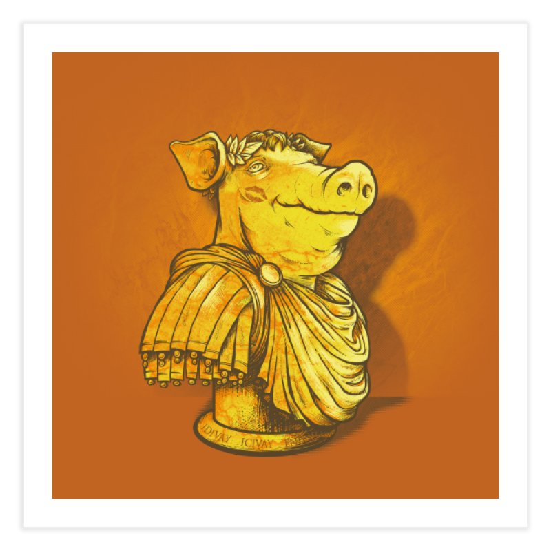 Pig Latin Home Fine Art Print by grayehound
