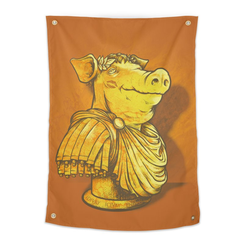 Pig Latin Home Tapestry by grayehound