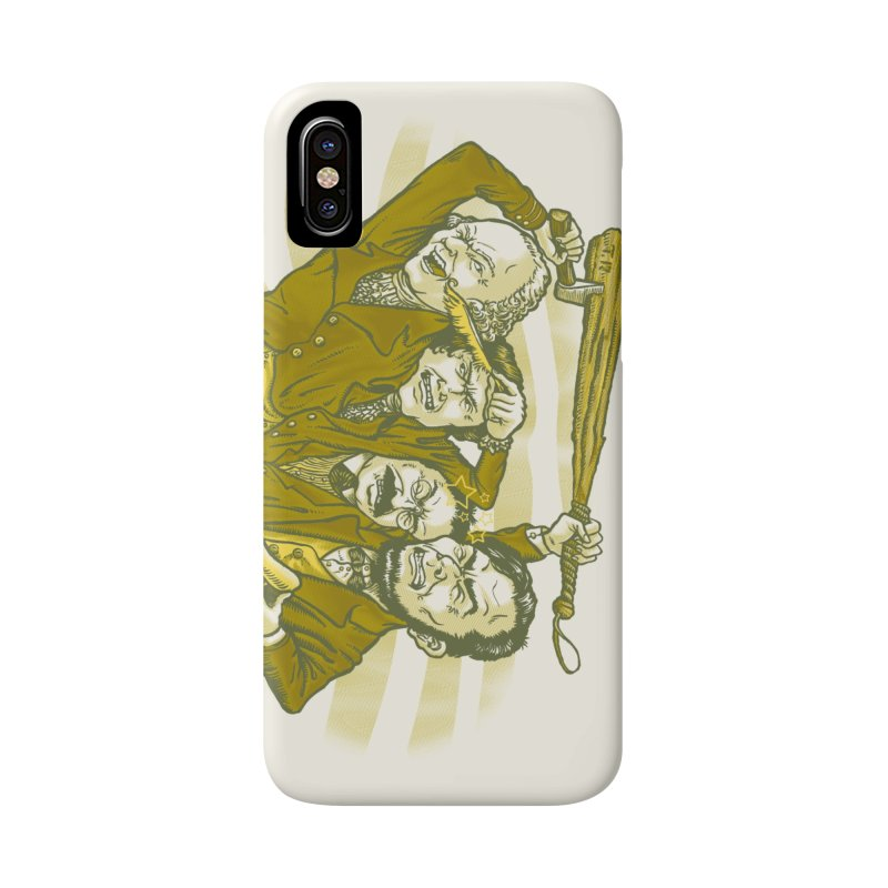 The Indivisible Man Accessories Phone Case by grayehound