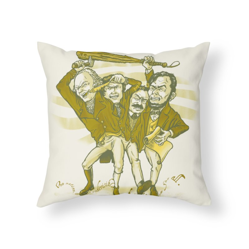 The Indivisible Man Home Throw Pillow by grayehound