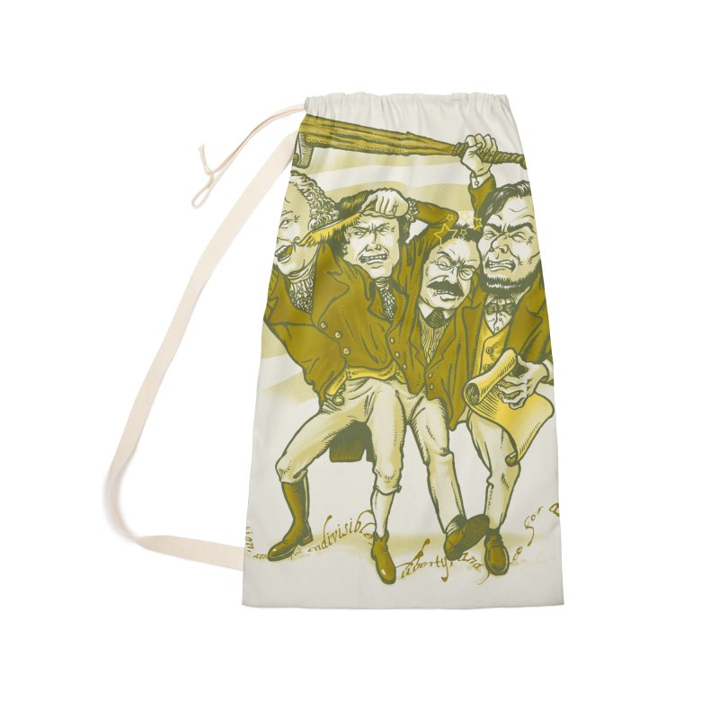 The Indivisible Man Accessories Laundry Bag Bag by grayehound