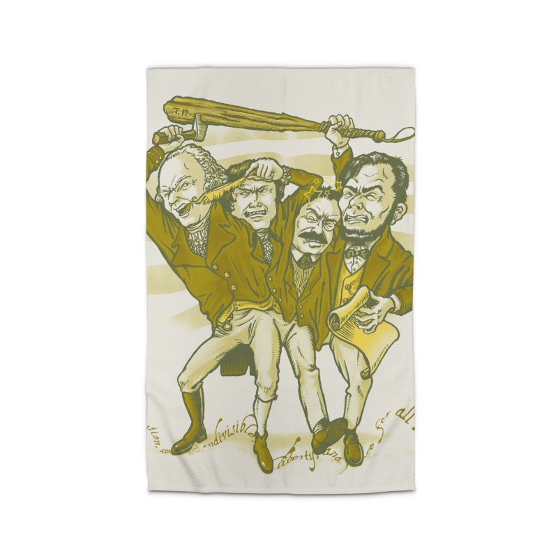 The Indivisible Man Home Rug by grayehound