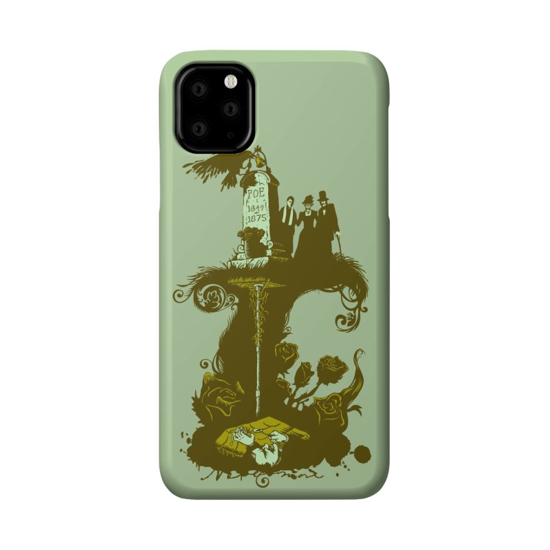 POEtic Irony Accessories Phone Case by grayehound