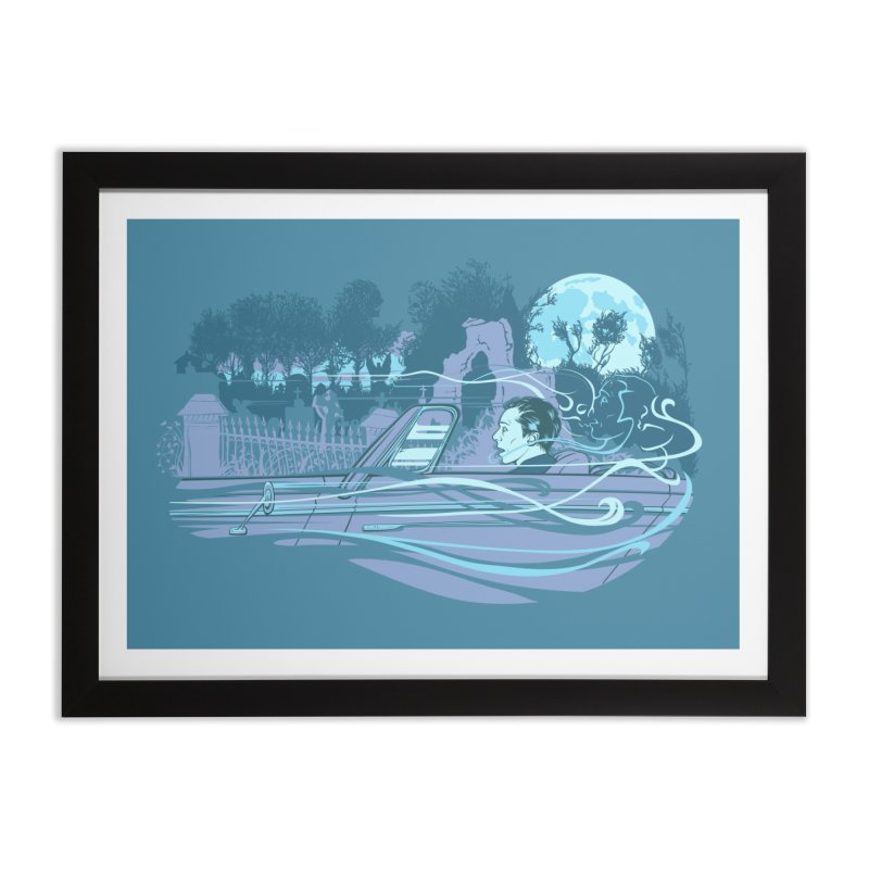 Death's Sweet Seduction Home Framed Fine Art Print by grayehound