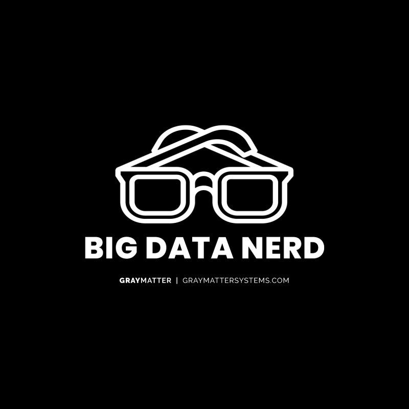 Big Data Nerd Accessories Notebook by graymattermerch's Artist Shop