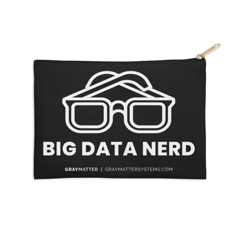 Big Data Nerd Accessories Zip Pouch by graymattermerch's Artist Shop