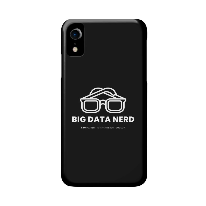 Big Data Nerd Accessories Phone Case by graymattermerch's Artist Shop
