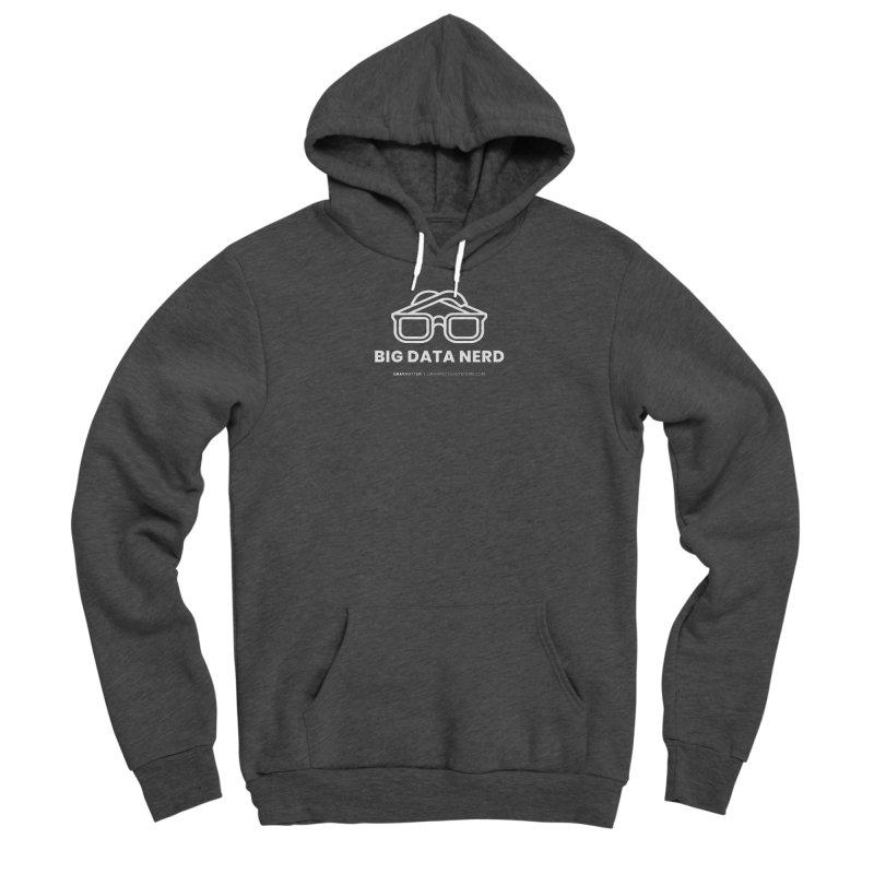 Big Data Nerd Men's Pullover Hoody by graymattermerch's Artist Shop