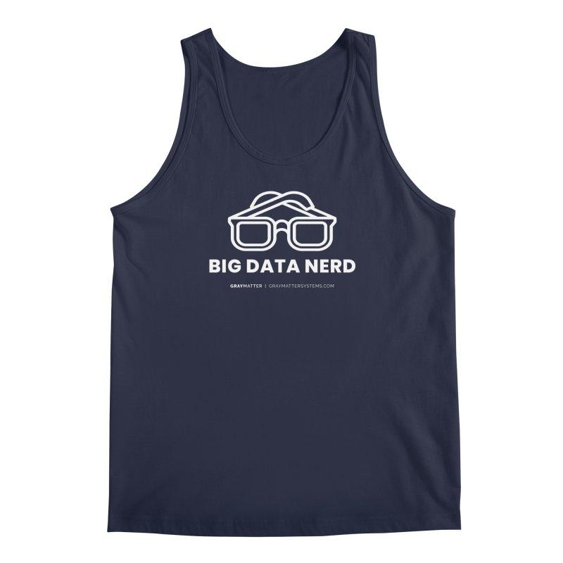Big Data Nerd Men's Tank by graymattermerch's Artist Shop
