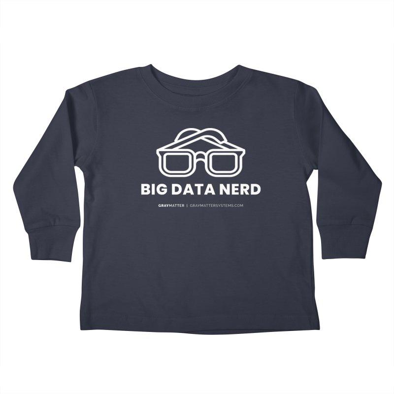 Big Data Nerd Kids Toddler Longsleeve T-Shirt by graymattermerch's Artist Shop