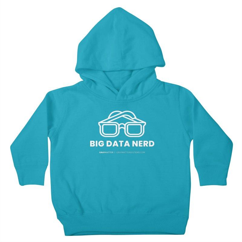 Big Data Nerd Kids Toddler Pullover Hoody by graymattermerch's Artist Shop