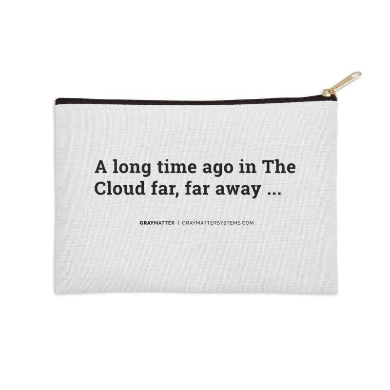 A long time ago in The Cloud far, far away... Accessories Zip Pouch by graymattermerch's Artist Shop