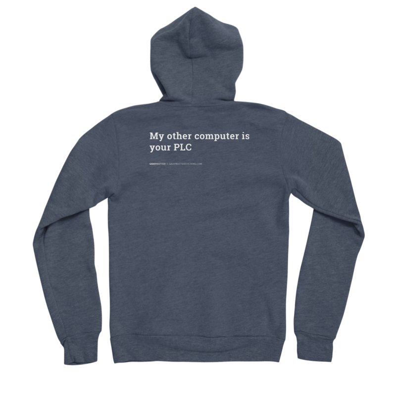 My Other Computer is Your PLC Women's Zip-Up Hoody by graymattermerch's Artist Shop