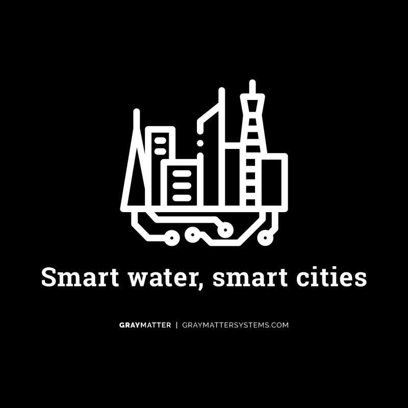 Smart Water, Smart Cities Men's V-Neck by graymattermerch's Artist Shop