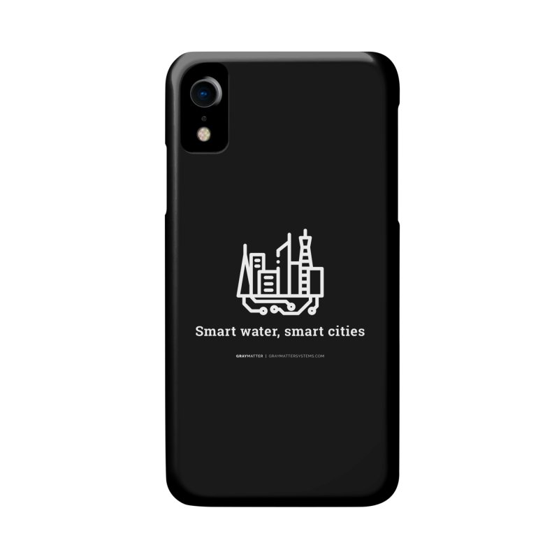 Smart Water, Smart Cities Accessories Phone Case by graymattermerch's Artist Shop