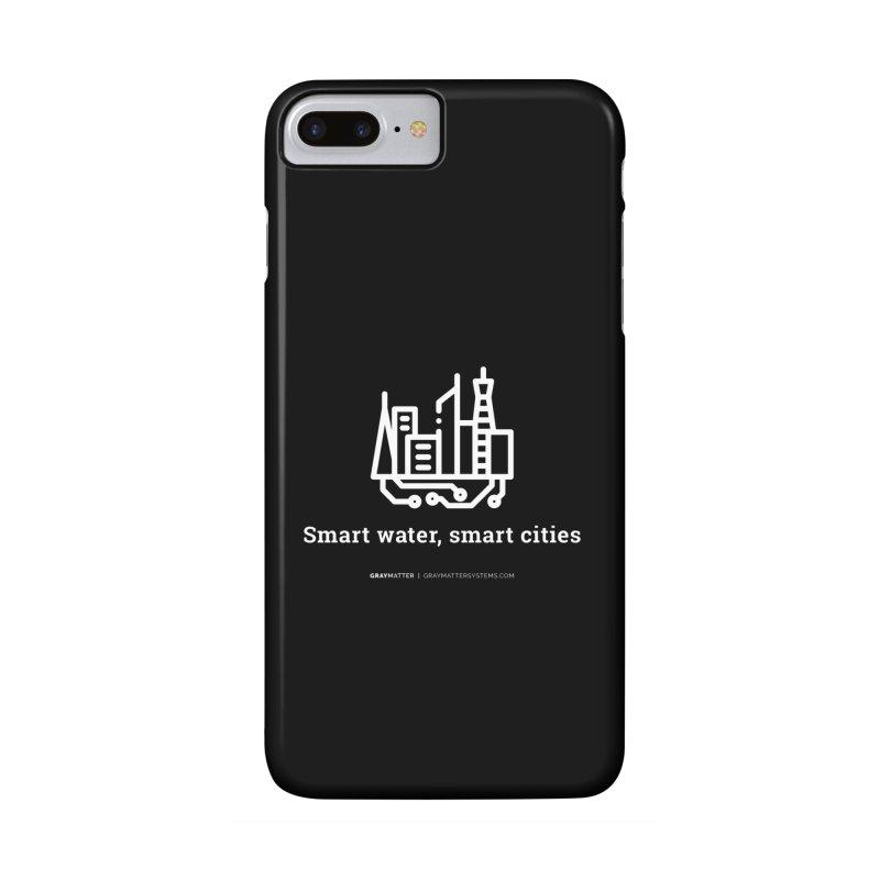 Smart Water, Smart Cities Accessories Phone Case by graymattermerch's Artist Shop