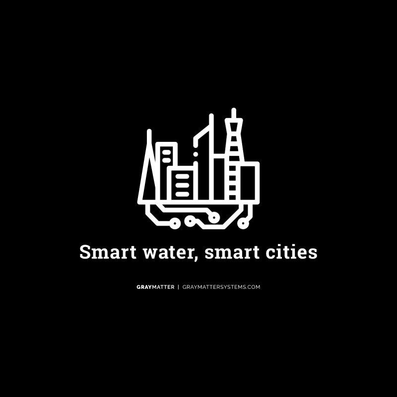 Smart Water, Smart Cities Women's Longsleeve T-Shirt by graymattermerch's Artist Shop
