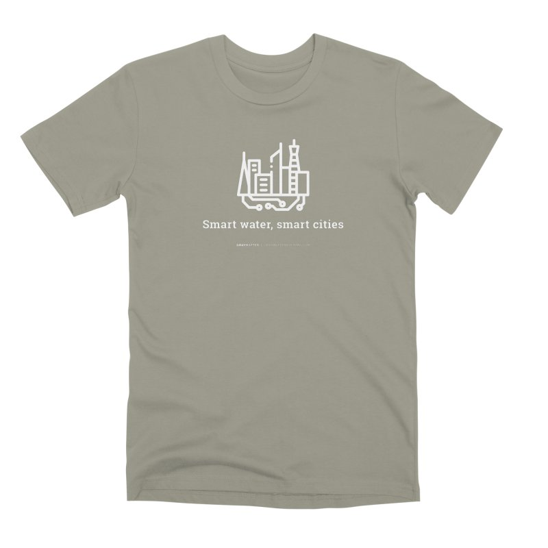 Smart Water, Smart Cities Men's T-Shirt by graymattermerch's Artist Shop