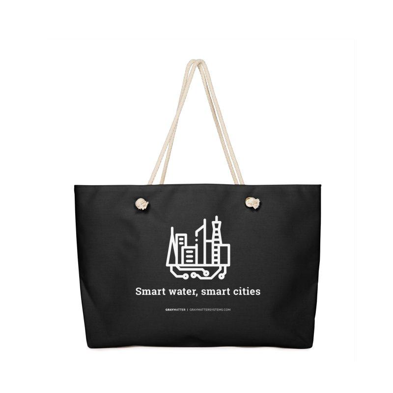 Smart Water, Smart Cities Accessories Bag by graymattermerch's Artist Shop
