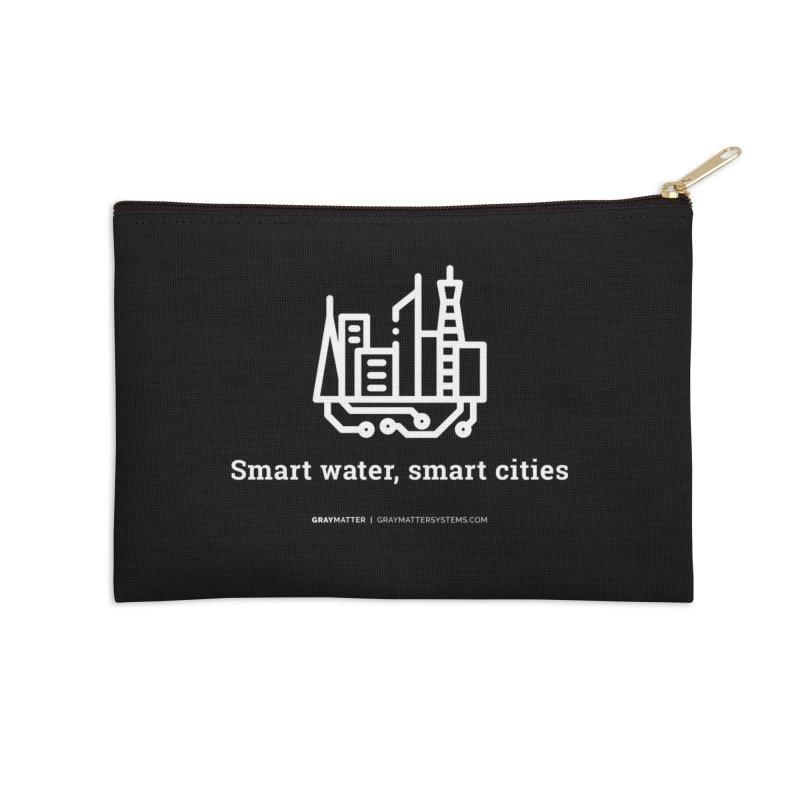 Smart Water, Smart Cities Accessories Zip Pouch by graymattermerch's Artist Shop