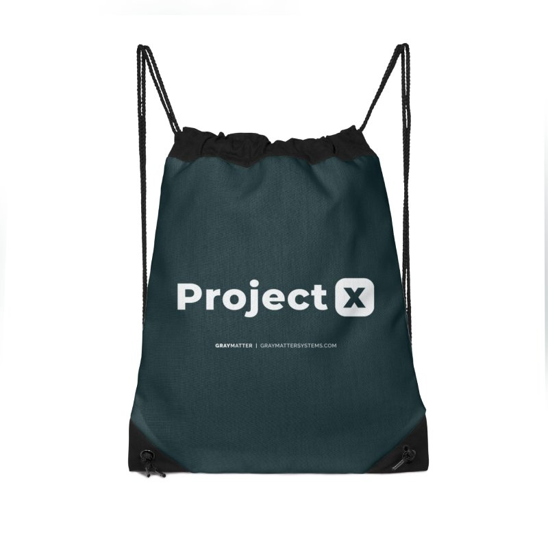 ProjectX Accessories Bag by graymattermerch's Artist Shop